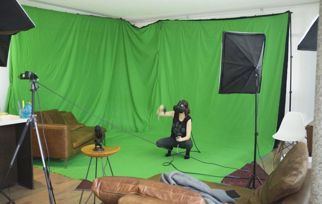 С HTC Vive можно будет делать реально-виртуальные летсплеи - Изображение 1