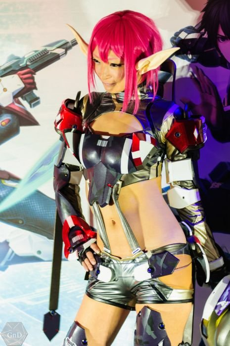 Девушки с Asia Game Show 2012 - Изображение 38