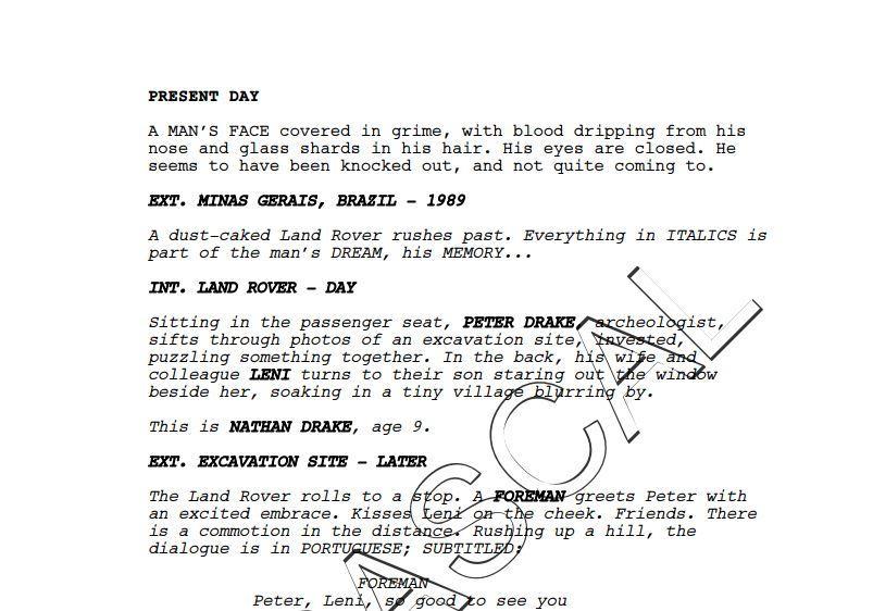 Все о фильме Uncharted из файлов Wikileaks. - Изображение 9