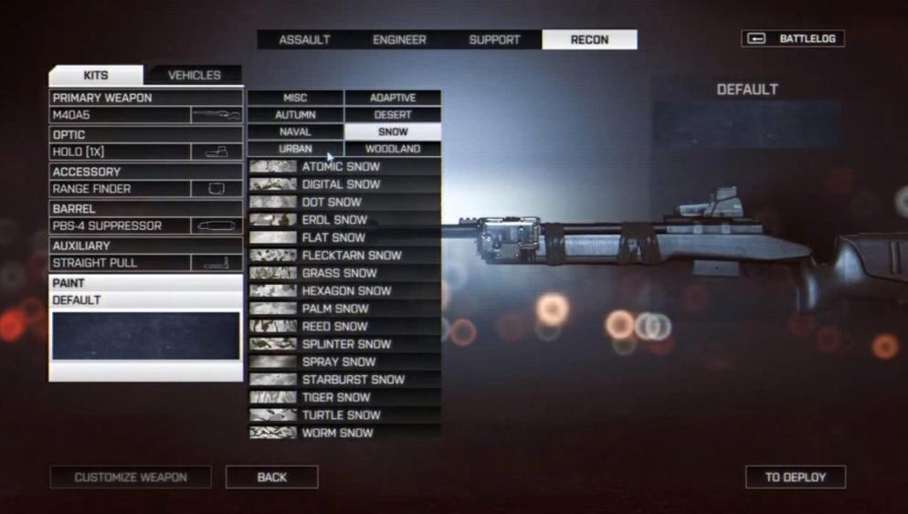 Камуфляж оружия в Battlefield 4. - Изображение 6