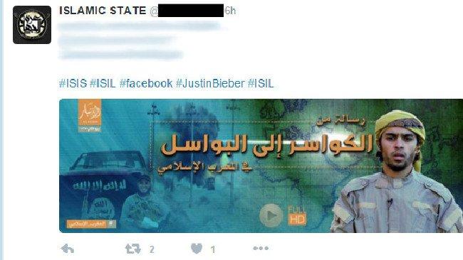 Террористы заманивают фанатов Джастина Бибера в свои ряды  - Изображение 1