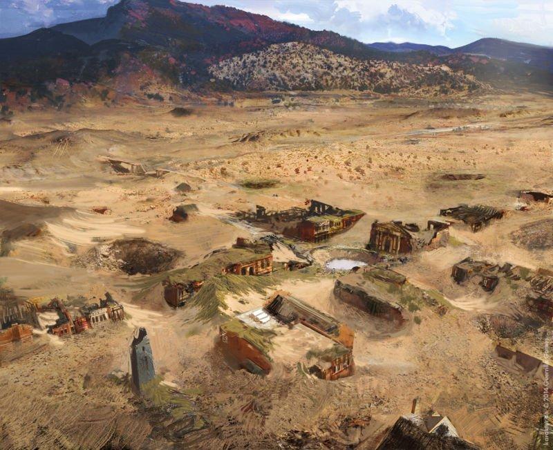 Прекрасные концепты Horizon: Zero Dawn отхудожников «Игры престолов» - Изображение 11