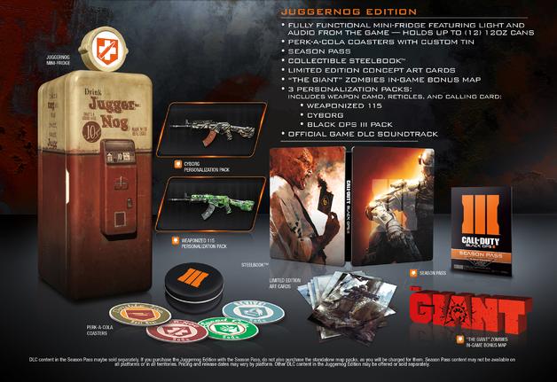 Слух: мини-холодильник в коллекционном издании Black Ops 3? . - Изображение 1