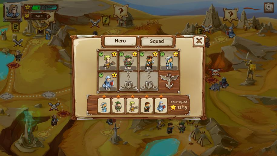 Braveland - пошаговая игра ручной работы. - Изображение 4