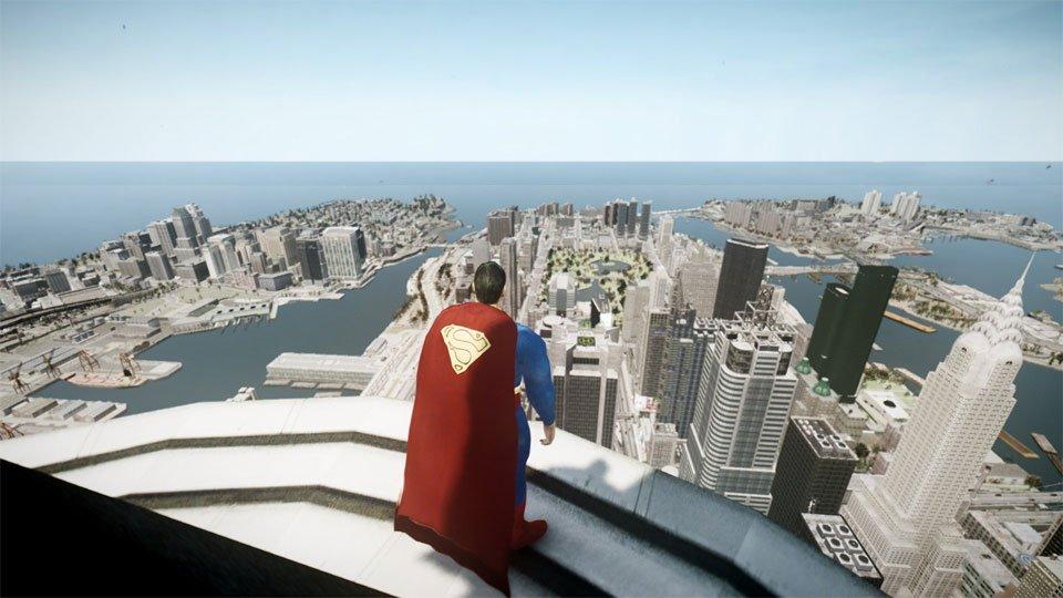 Можно ли сделать интересную игру про Супермена в духе Arkham-серии?  - Изображение 9