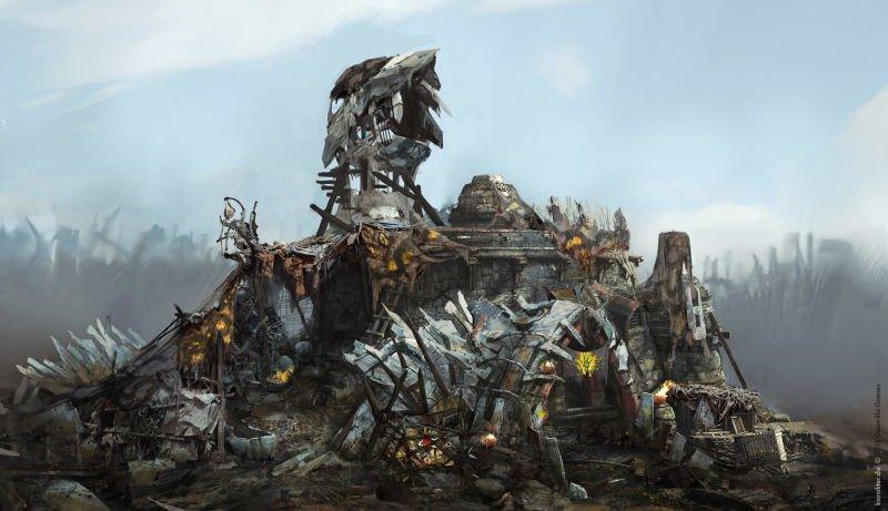 Прекрасные концепты Horizon: Zero Dawn отхудожников «Игры престолов» - Изображение 20