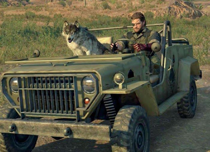 Одноглазый волк для одноглазого героя на новых скринах MGS V - Изображение 1