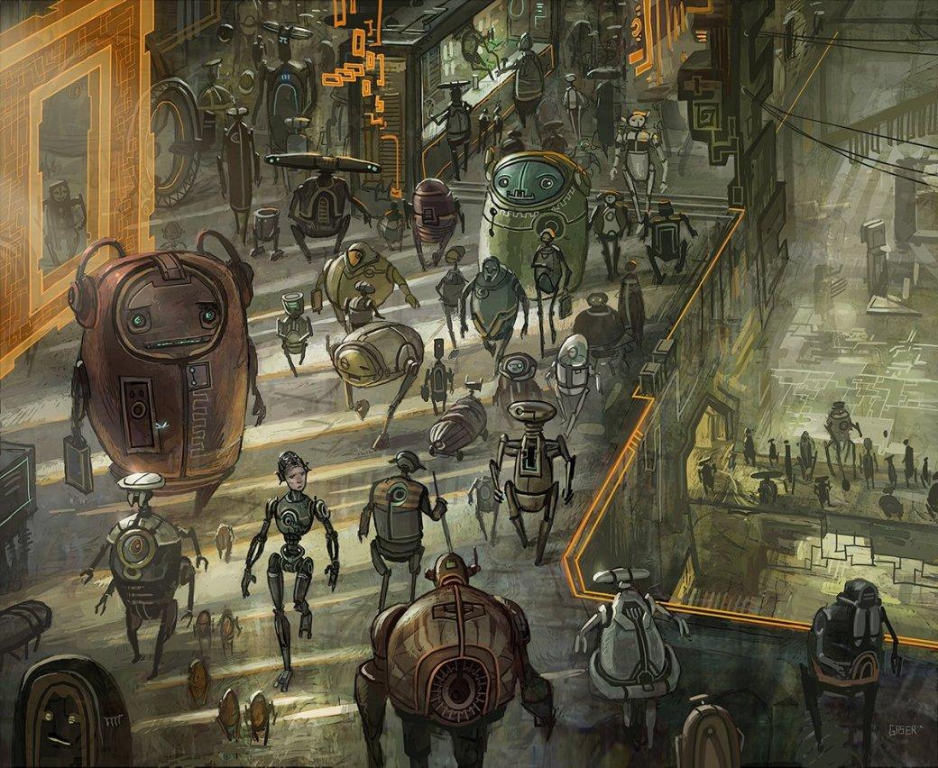 Орки и звездолеты: лучший арт художника «Войн клонов» - Изображение 12
