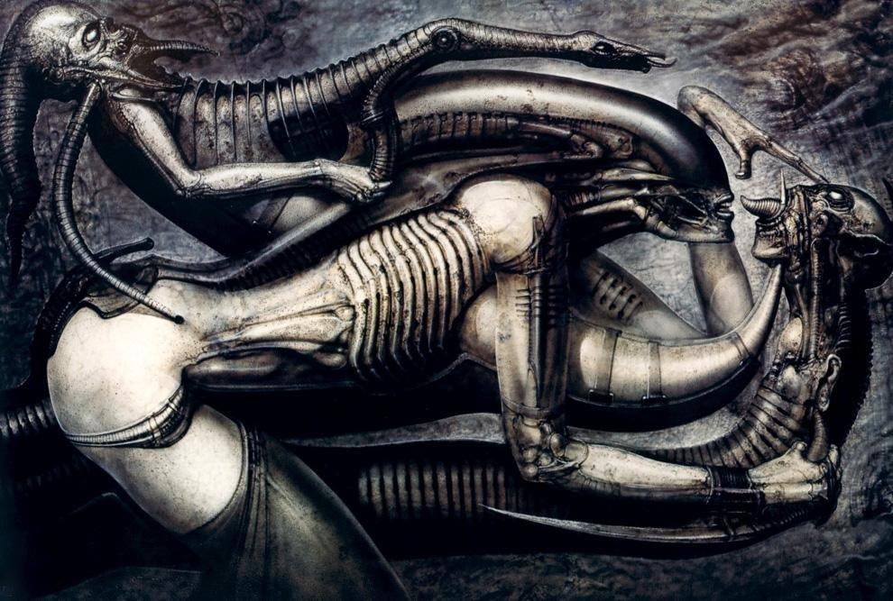 Галерея самых жутких артов Гигера. Страсть, секс истрах - Изображение 1