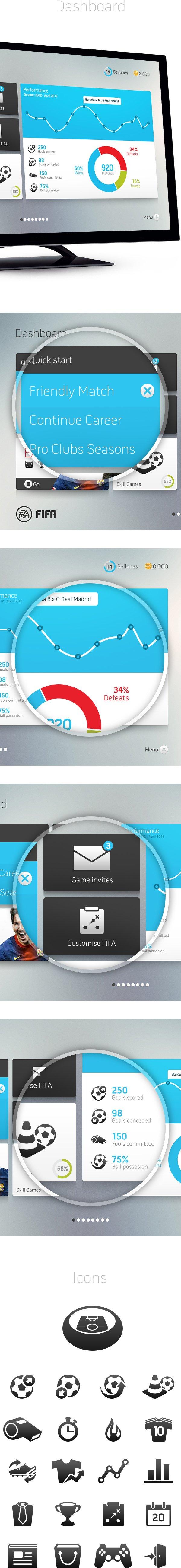 В сети появился дизайнерский прототип интерфейса FIFA - Изображение 3