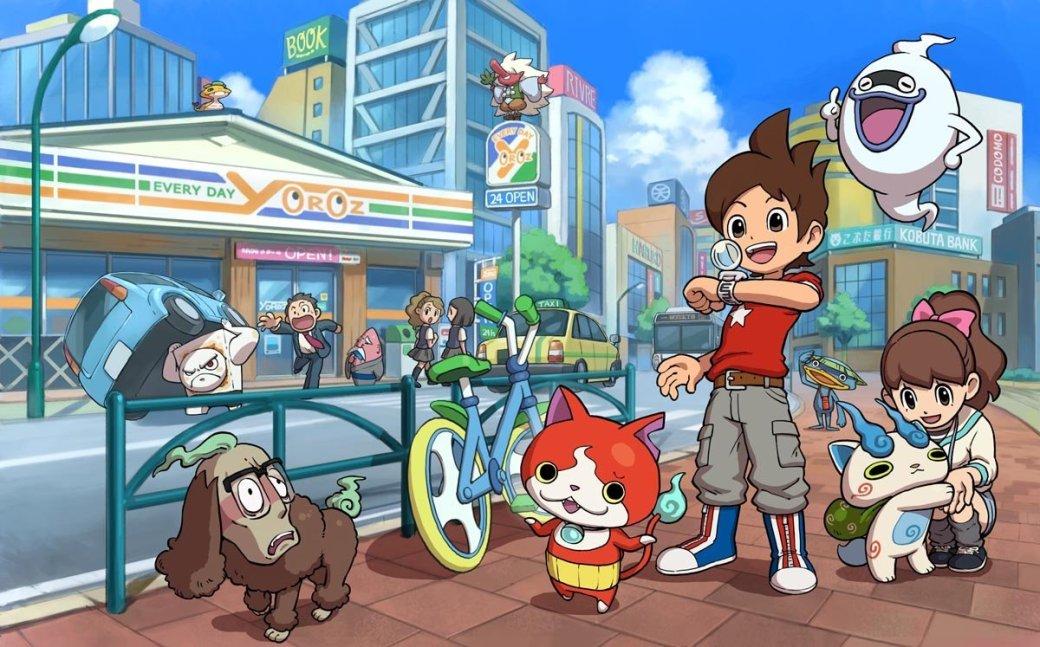 Yo-kai Watch 2 в четвертый раз возглавила японский чарт  - Изображение 1