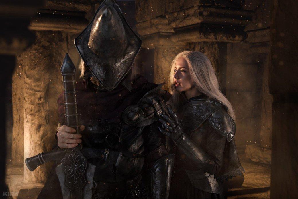 Косплей дня: Негорящий и Юрия из Лондора в Dark Souls 3. - Изображение 7