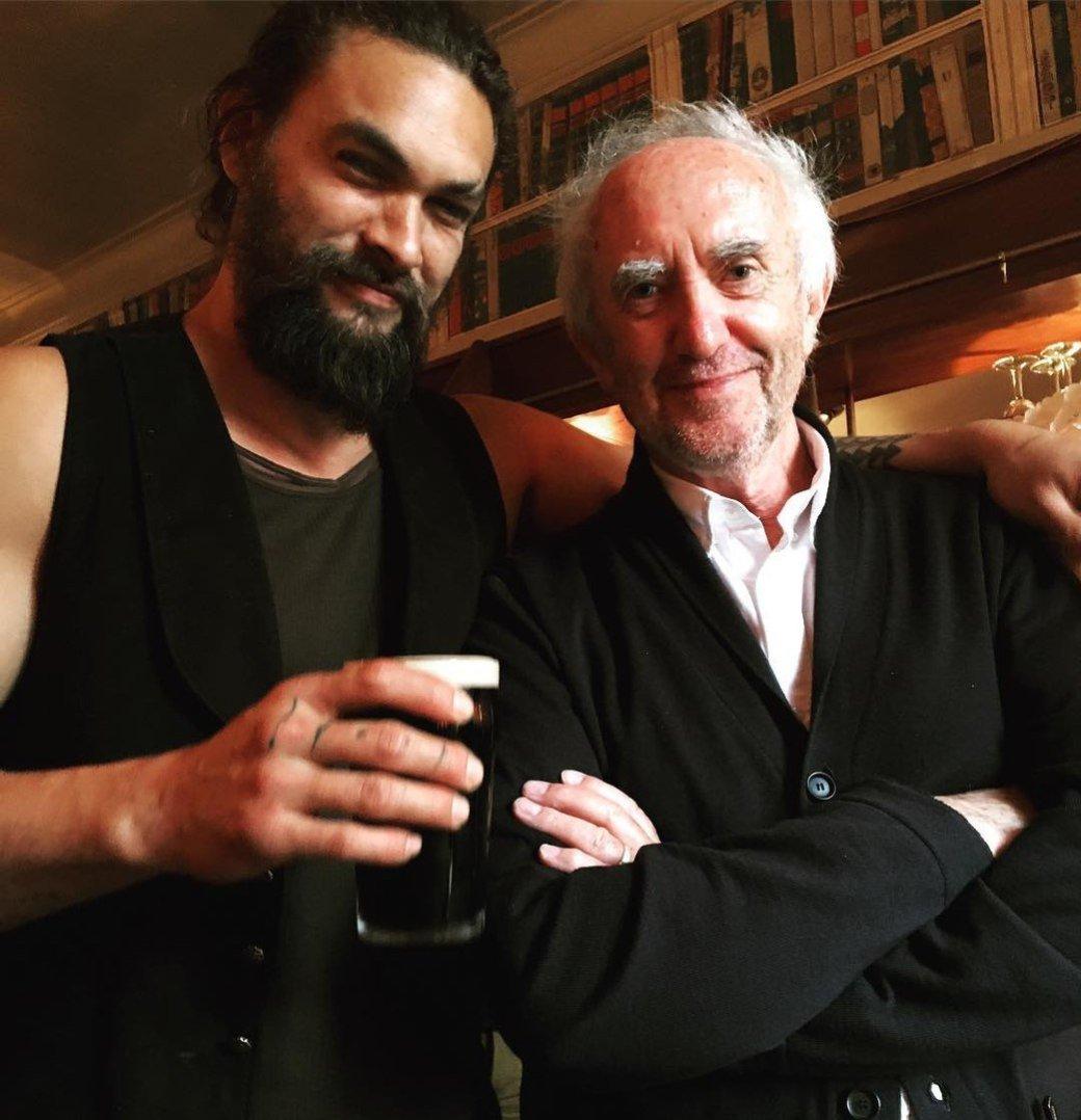 Аквамен купается в пиве: Джейсон Момоа получил свой сорт Guinness - Изображение 2