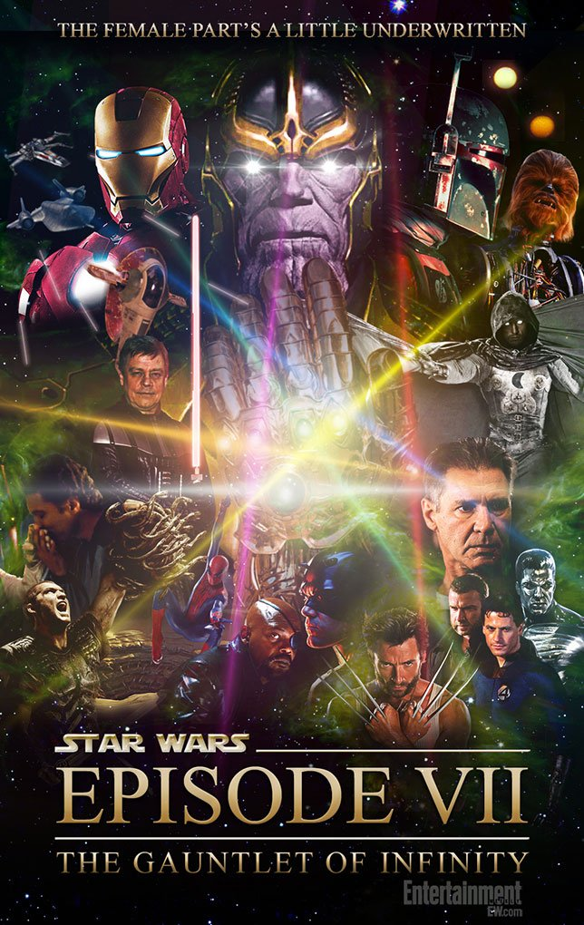 Фанатские постеры Star Wars: Episode VII - Изображение 38
