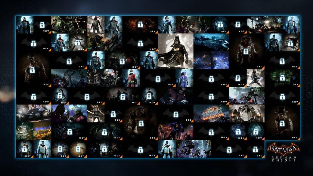 До конца года Rocksteady выпустит пятнадцать DLC для Arkham Knight - Изображение 1