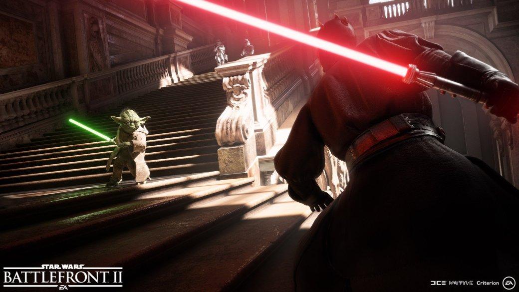 Вweb-сети интернет появился трейлер новейшей Star Wars BattlefrontII