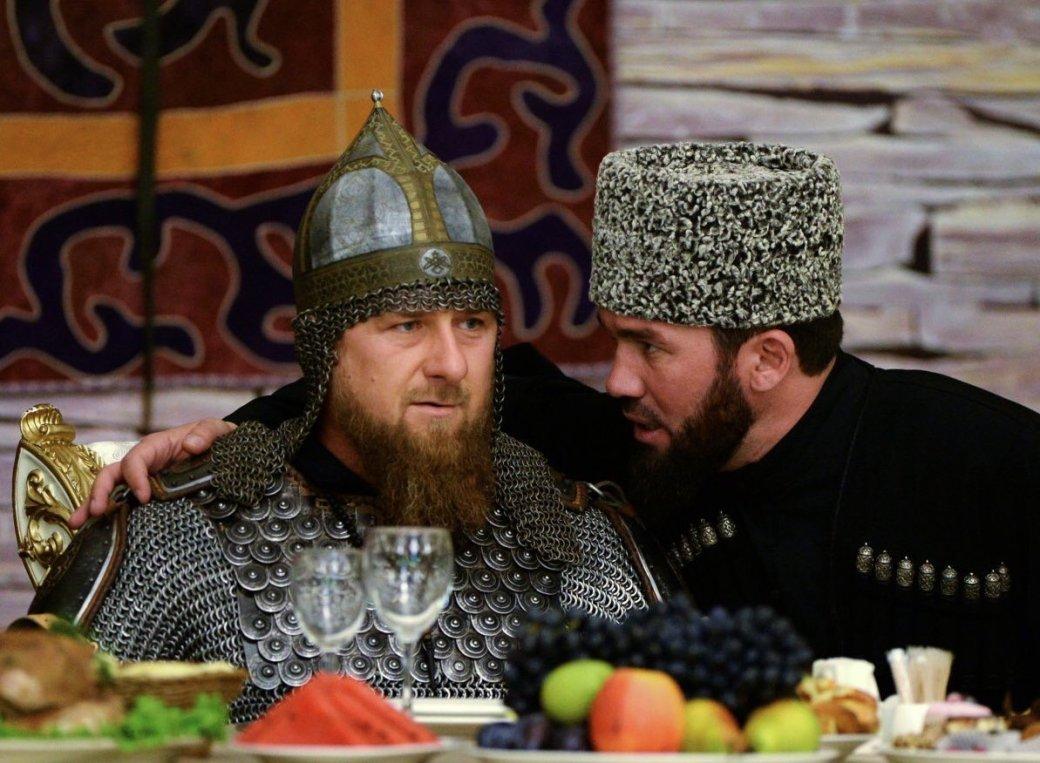 Косплей дня: Рамзан Кадыров в доспехах - Изображение 1