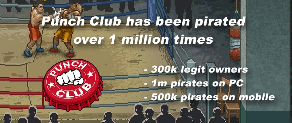 Создатели Punch Club сосчитали всех пиратов - Изображение 1