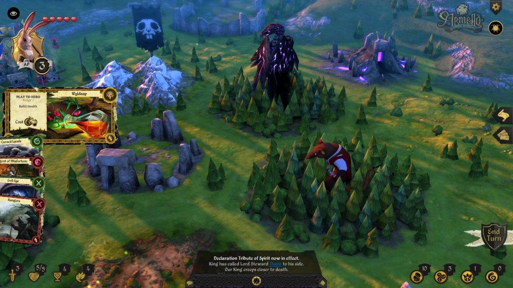 Полная версия Armello выйдет на PC и PS4 1 сентября. - Изображение 1