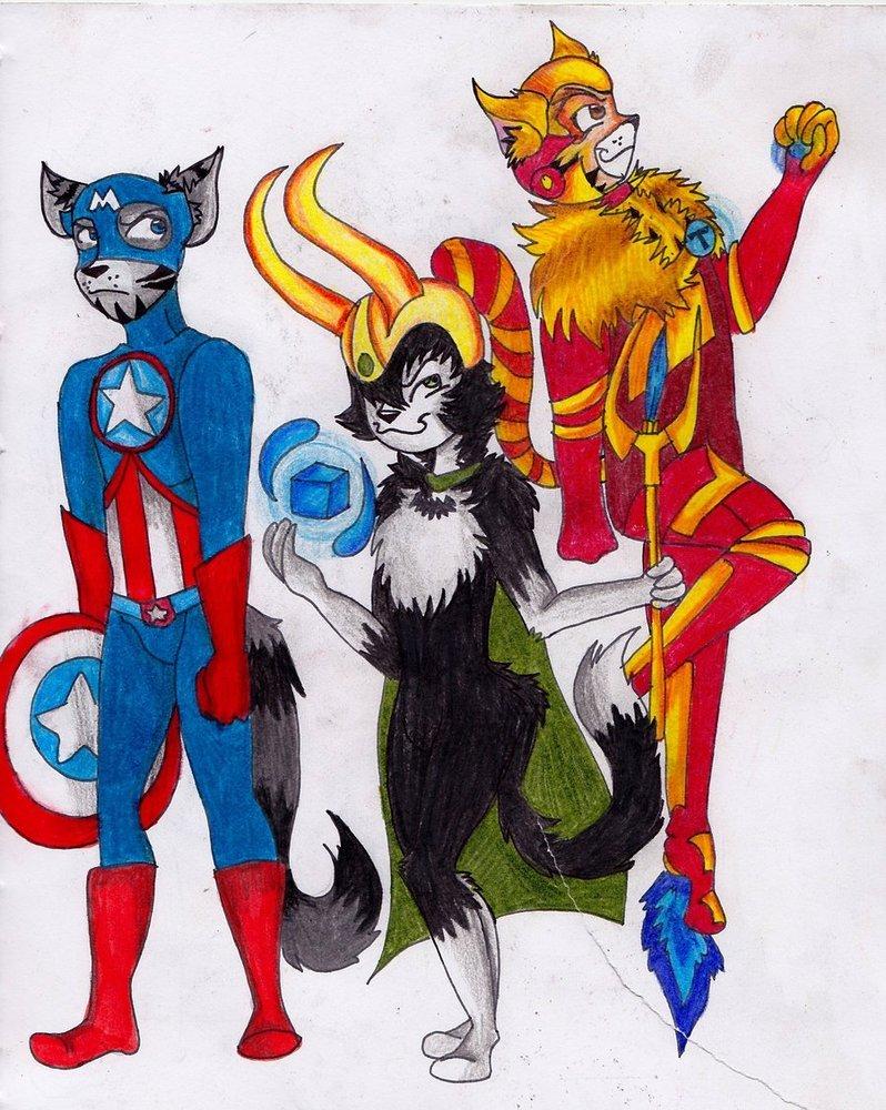 Галерея вариаций: Мстители-женщины, Мстители-дети... - Изображение 102