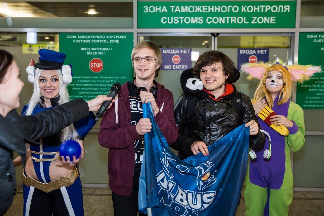 Фанаты встретили Albus NoX Luna в Шереметьево как героев. - Изображение 4