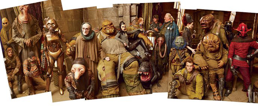 Свежие фотографии старых и новых героев «Звездных войн» - Изображение 9