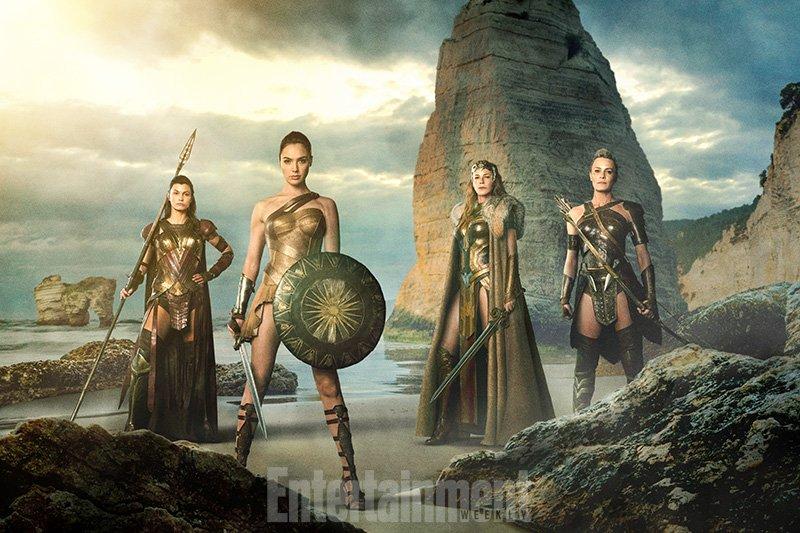 Все прекрасные амазонки «Чудо-женщины» появились на одном снимке - Изображение 1