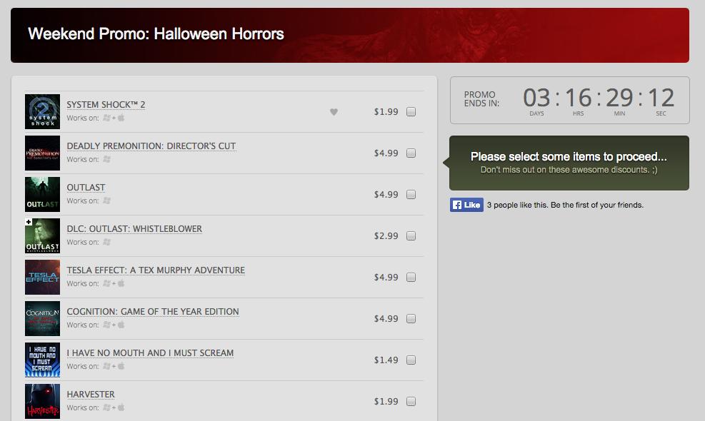 Хэллоуинские распродажи манят сотнями игр (список обновляется) - Изображение 4