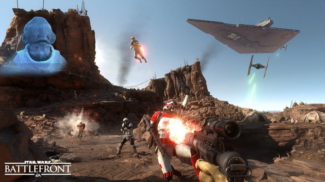 Бета Star Wars Battlefront будет открытой, с онлайном и оффлайном - Изображение 1