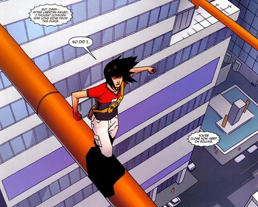 Комиксы: Mirror's Edge - Изображение 2