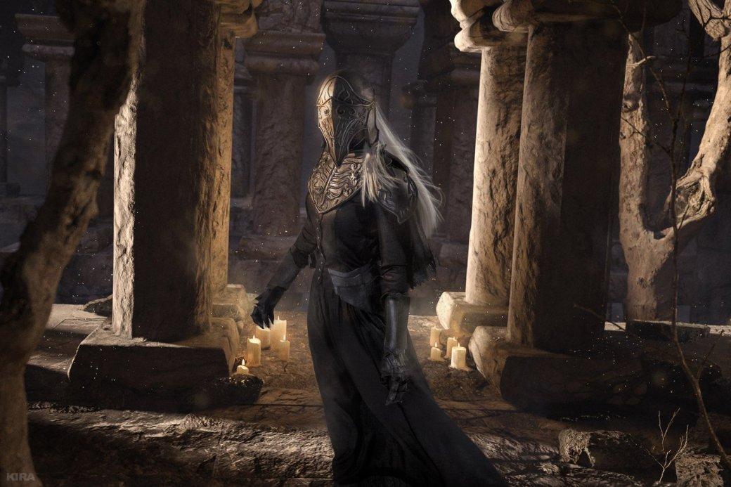 Косплей дня: Негорящий и Юрия из Лондора в Dark Souls 3. - Изображение 2