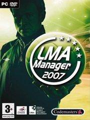 LMA Manager 2007 – фото обложки игры