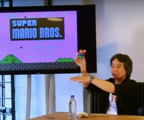 Миямото рассказал,  как делался уровень 1-1 Super Mario Bros.