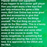 Скриншот All About Golf For Seniors – Изображение 2