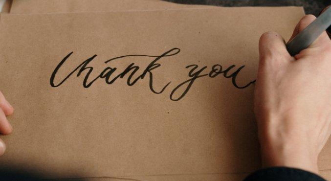 Пост благодарности