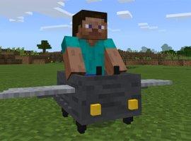 Энтузиаст сделал в Minecraft рабочий пассажирский самолет. Не хотелось бы в нем лететь!