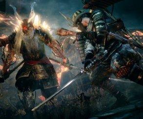 Вновом геймплее Nioh 2 главный герой сражается сопасным боссом