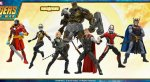 Фигурки пофильму «Мстители: Война Бесконечности»: Танос, Тор, Железный человек идругие герои. - Изображение 246