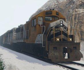 Гифка дня: поезд-призрак вGrand Theft Auto5