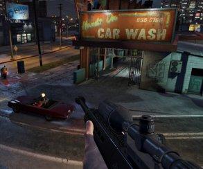 Гифка дня: слишком чистое окно вGrand Theft Auto5