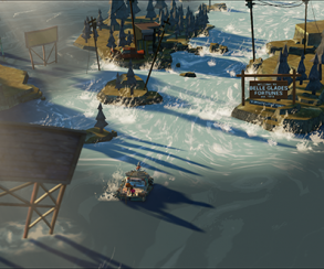 Соавторы BioShock и Halo посадят девушку на плот в игре про потоп