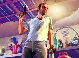 Гифка дня: добрый водитель Тревор вGrand Theft Auto V