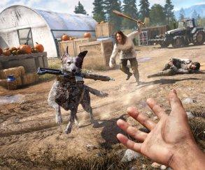 Это что, разумная собака? В новом трейлере Far Cry 5 пес рассказал о своей нелегкой судьбе