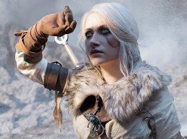 Девушка изРоссии косплеит Цири из«Ведьмака 3» вчесть пятилетия игры