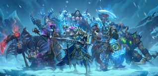 Hearthstone: Knights of the Frozen Throne. Анонсирующий трейлер