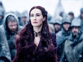 Мелисандра из«Игры престолов» показала, как еегероиню состаривали для сериала