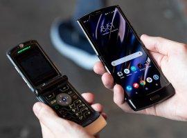 Представлена «раскладушка» нового поколения Motorola RAZR