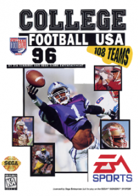 College Football USA 96 – фото обложки игры