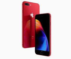 Apple анонсировала «правильный» красный iPhone 8