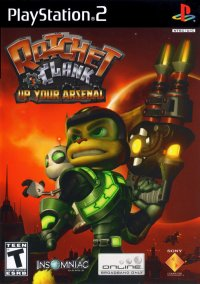 Ratchet & Clank 3: Up Your Arsenal – фото обложки игры